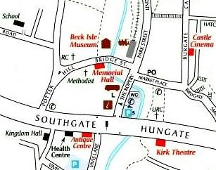 Pickering Map